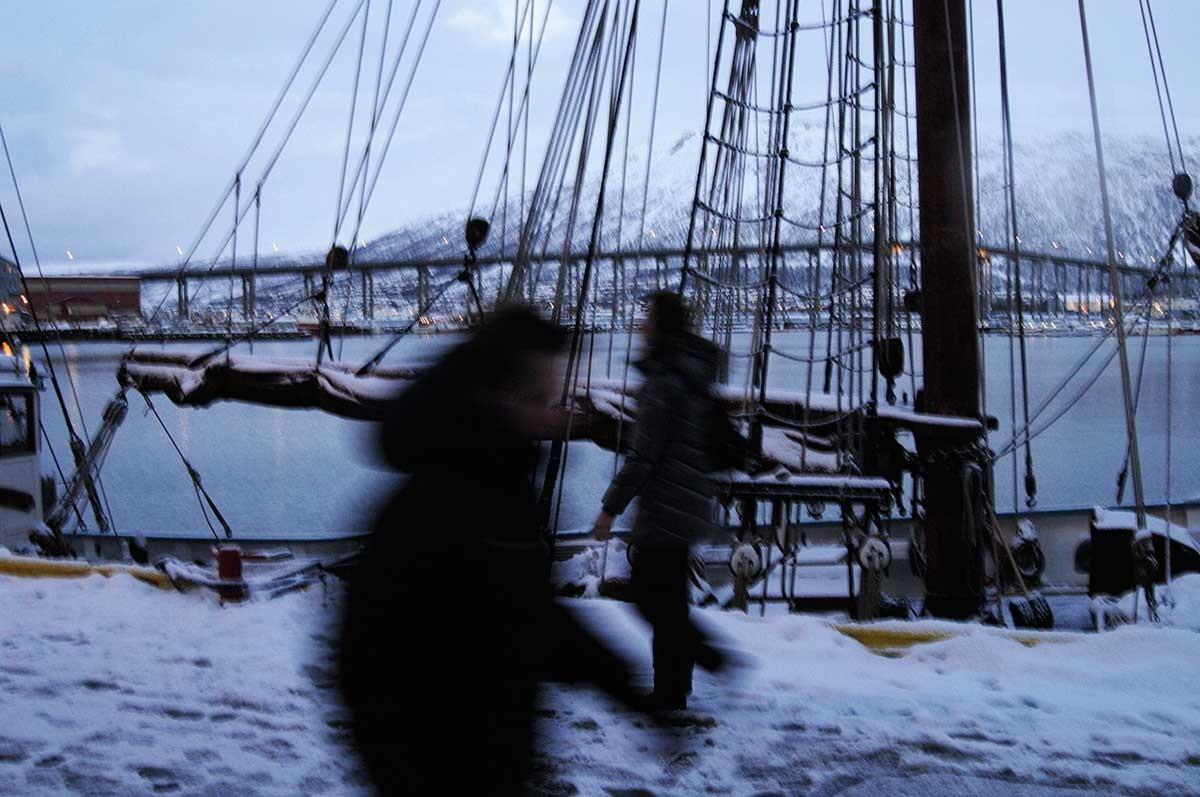 Noruega Tromso puerto