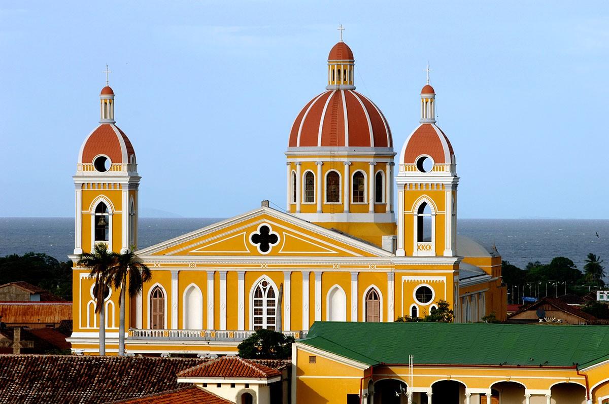 Catedral de la ciudad de Granada Nicaragua