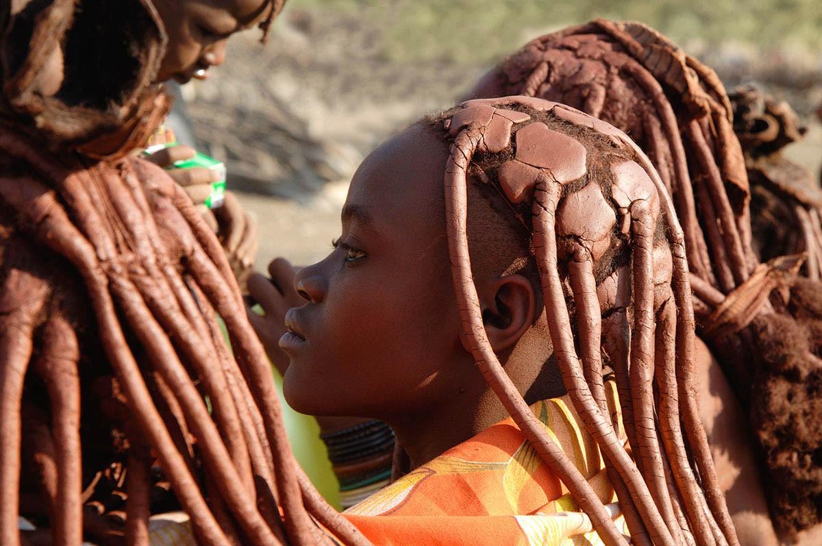Namibia mujeres peinados