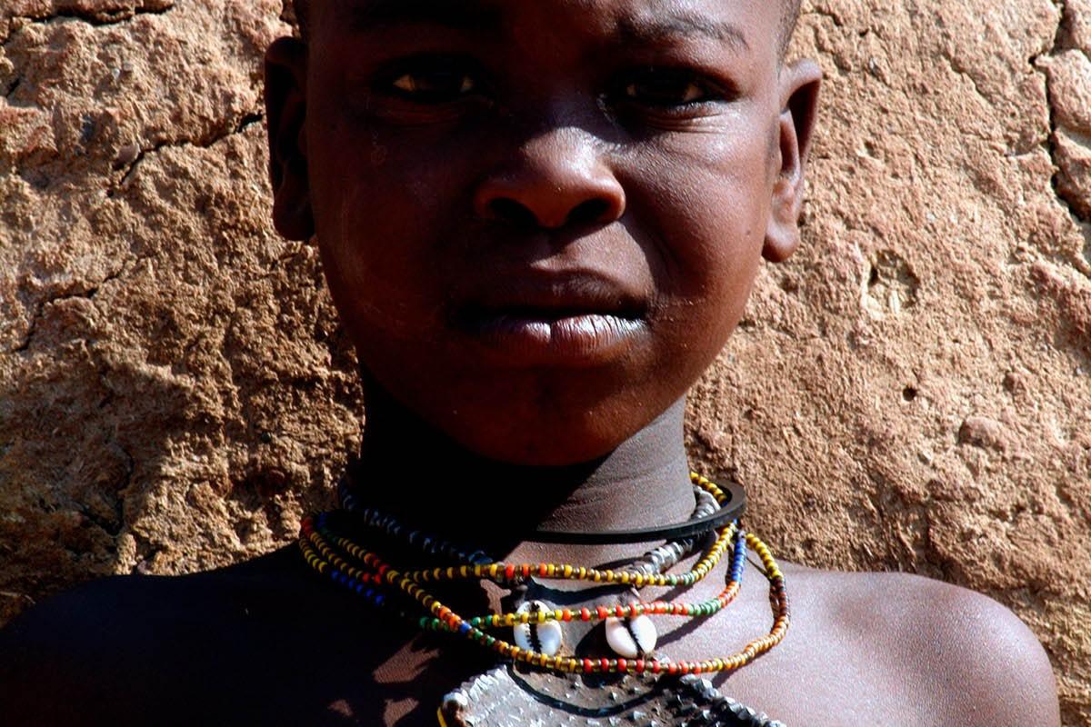 Namibia niño retrato