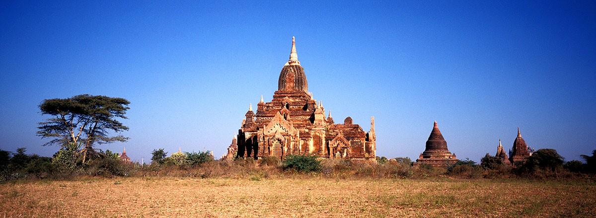Myanmar Bagan Stupa.