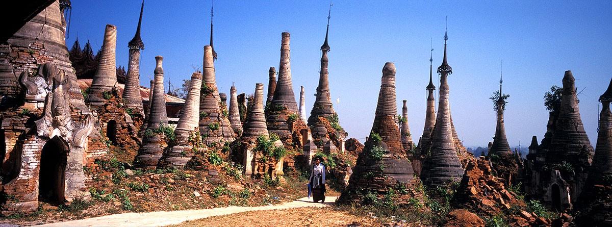 Myanmar Inle Lake  Shwe Yan Pye Monestury