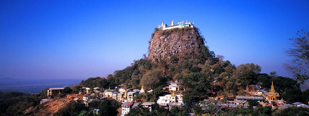 Monasterio budista Monte Popa.