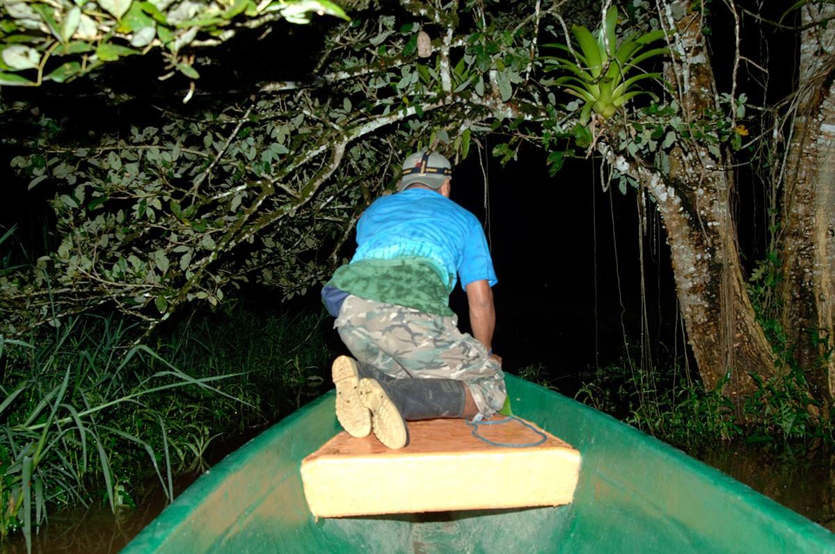 Reserva Indio Maiz navegando en Rio San Juan Nicaragua