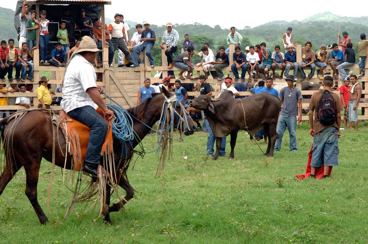 Rodeo en San Juan del Sur Nicaragua Vaqueros.