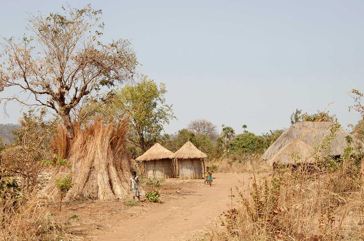 aldea cabañas