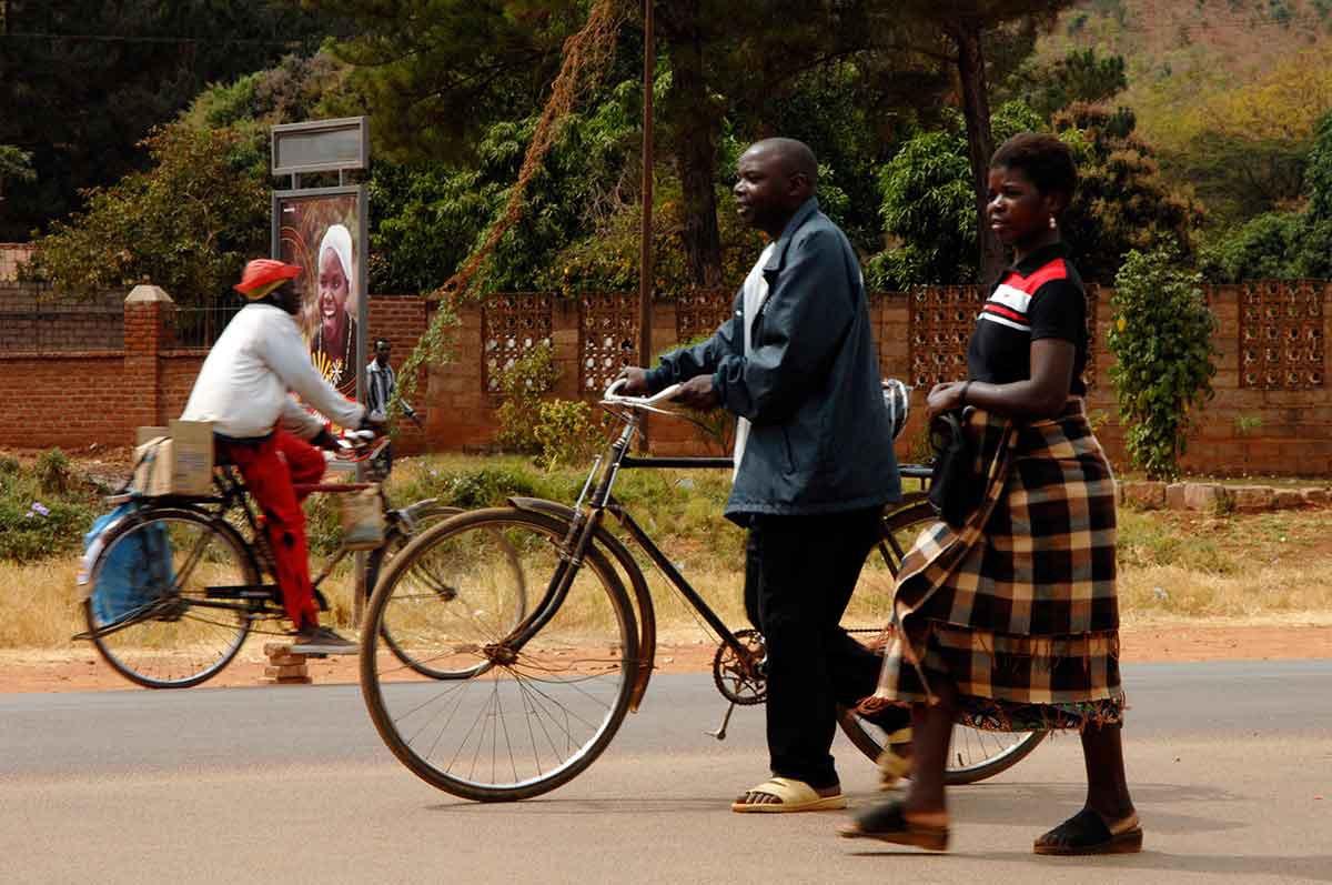 Livingstone calle gente