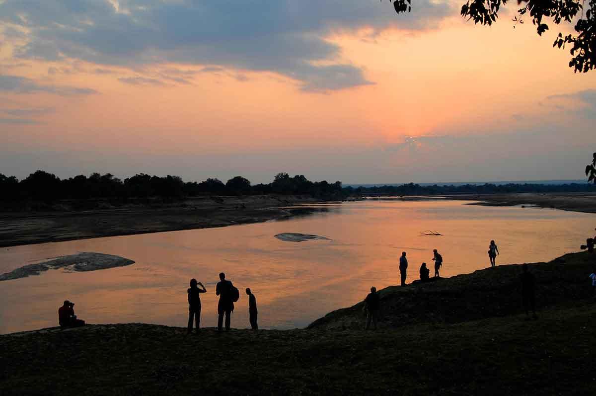 Zambeze River atardecer
