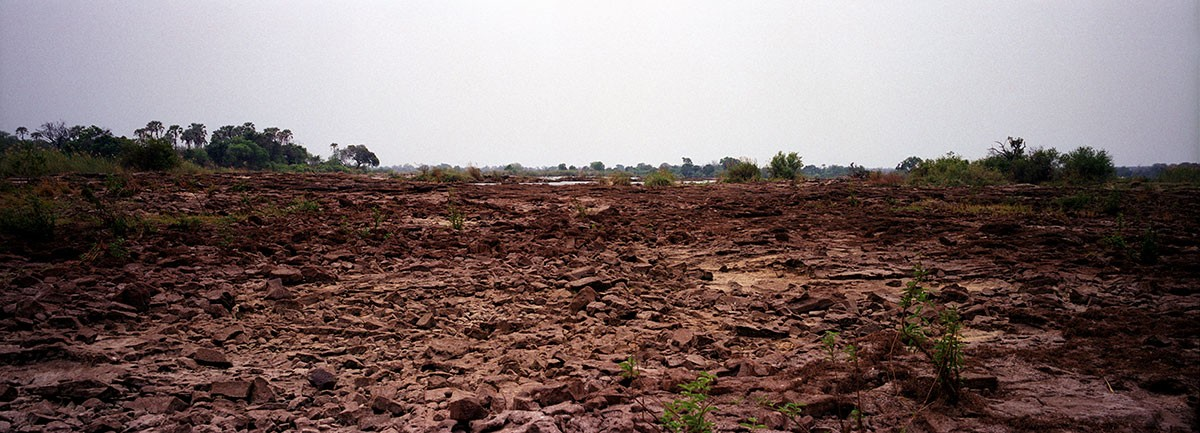 Rio Zambeze cauce seco